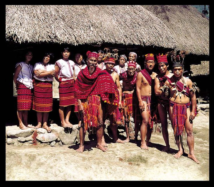 IFUGAO TRIBE IN THE VILLAGE quot;TAMANquot; LUZON ISLAND THE PHILIPPINES FEATURED IN THE BOOK: quot;THE LAST