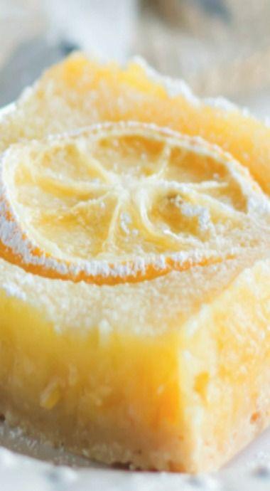 Shaker Lemon Ginger Pie Bars | Pie Bars, Pies and Lemon