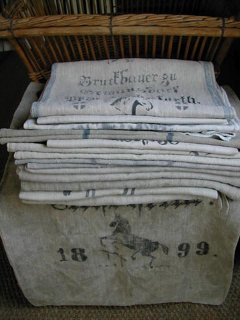 358 Best Grain Sack Images On Pinterest Grain Sack