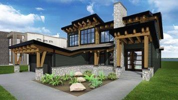 House designs - Lakeside Home - Boss Design Ltd. in Edmonton, AB