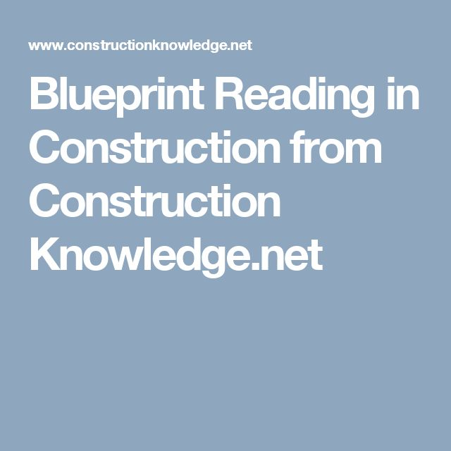 10 best training center images on pinterest blueprint reading in construction from construction knowledge malvernweather Images