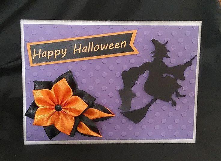 Carte de Halloween faite main : Cartes par vosrevesbrodes