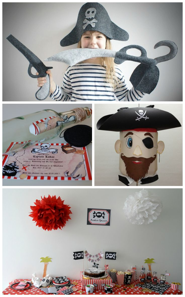 Piraten-Party // Pirates party via blog.DaWanda.com
