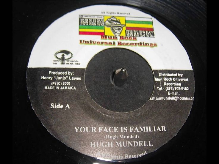Hugh Mundell   - Your Face Is Familiar