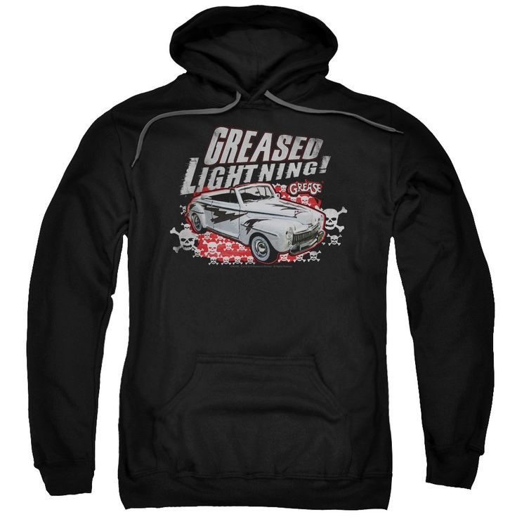 """Checkout our #LicensedGear products FREE SHIPPING + 10% OFF Coupon Code """"Official"""" Grease / Greased Lightening-adult Pull-over Hoodie - Grease / Greased Lightening-adult Pull-over Hoodie - Price: $49.99. Buy now at https://officiallylicensedgear.com/grease-greased-lightening-adult-pull-over-hoodie"""
