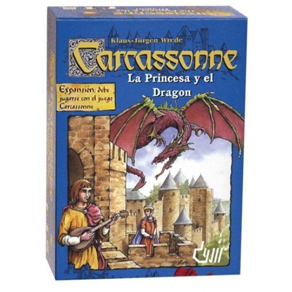 La Princesa y el Dragón (Carcassonne)