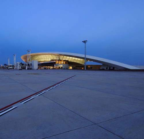 Architecture Design of Carrasco International Airport by Rafael Vinoly Architects PC