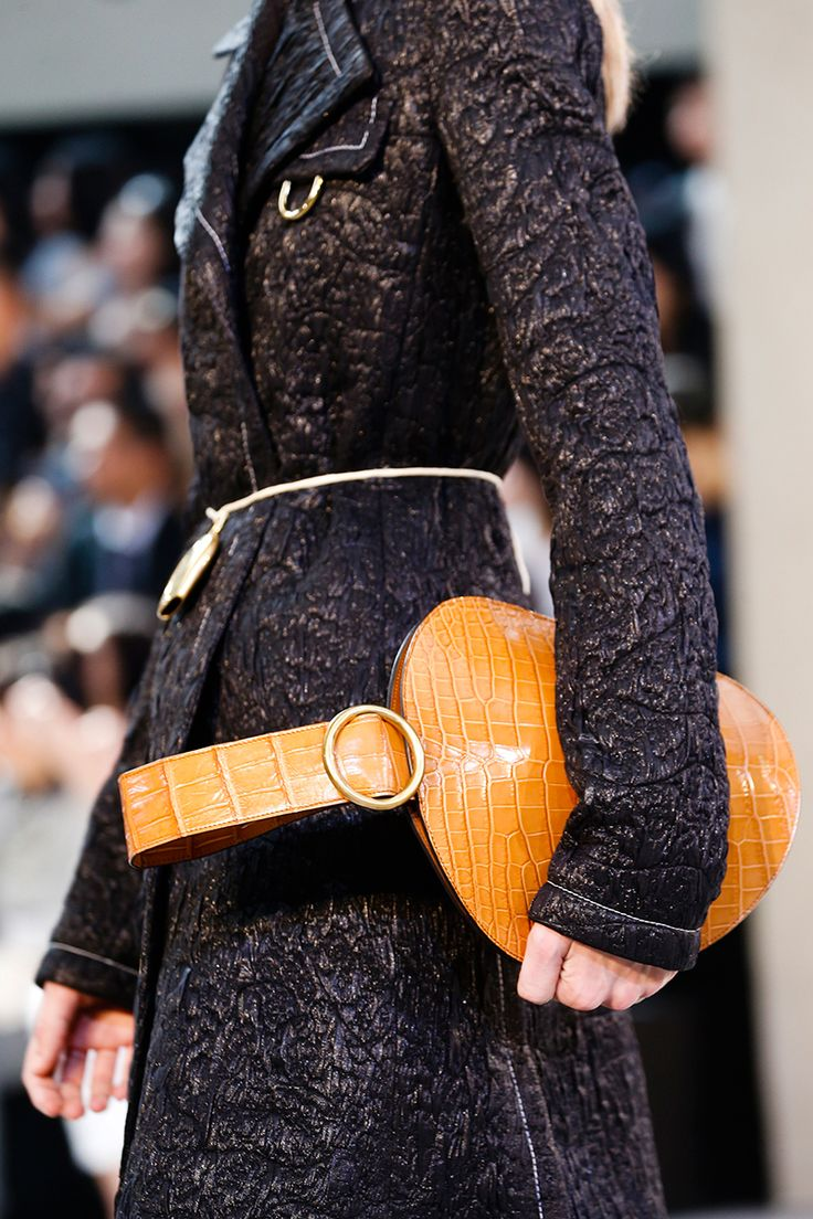 Fendi spring summer 2015 runway bag collection spotted fashion - Handbags With Circular Top Handles Trend Spring C Line