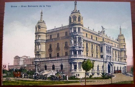 - Old Spa Gran Hotel La Toja in 1907 when it opened. - Antiguo Balneario Gran Hotel La Toja en 1907 cuando abrió sus puertas. - L'ancien Gran Hotel La Toja en 1907, date à laquelle il fut inauguré. #GranHotelLaToja #Balnearios #Spa www.granhotellatoja.com