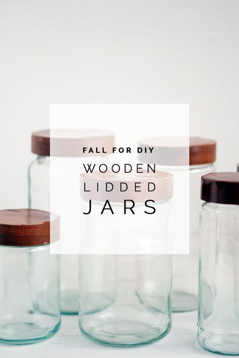 Love these #DIY Wooden Lidded Jars from Francesca Stone :) #craft
