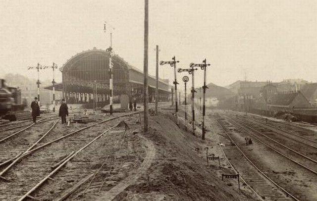 Station Haarlem (jaartal: 1900 tot 1910) - Foto's SERC