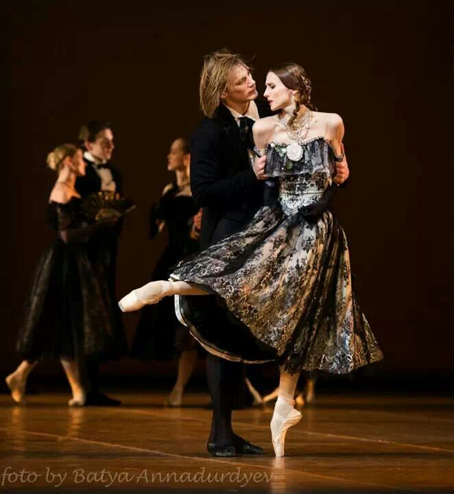 "NEW!!! Svetlana Zakharova (Bolshoi Ballet) and Edvin Revazov (Hamburg Ballet)...Marguerite and Armand in ""Lady of the Camellias"" at The Bolshoi Theatre Moscow...March 20, 2014..."