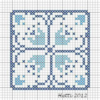 Creative Workshops from Hetti: SAL Delfts Blauwe Tegels, Deel 12 - SAL Delft Blue Tiles, Part 12.
