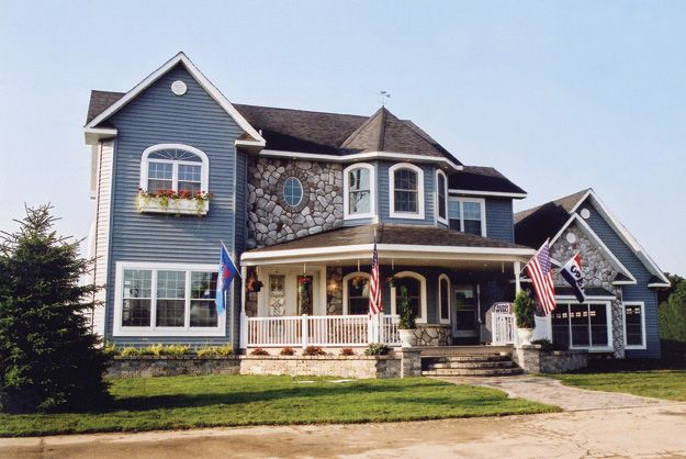 Classic Victorian With Trademark Great Porch Turret