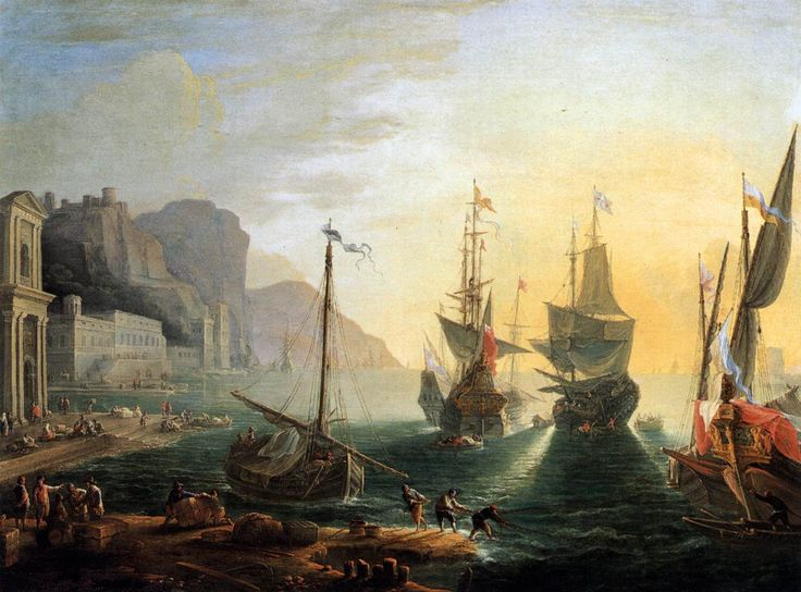 View of a Southern Port
