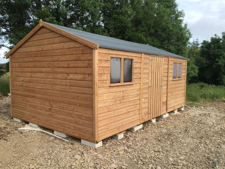 Garden Sheds Ireland - Timber Sheds Dublin and Wooden Sheds for Sale Online Heavy Duty Premium Range