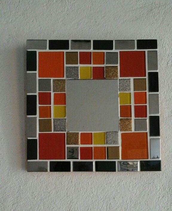 Espejo mosaico 25x25