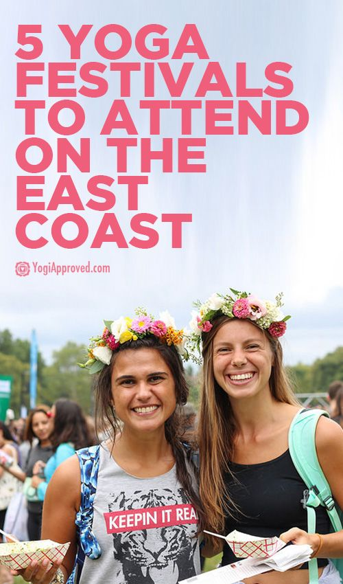 If you live on the East Coast these yoga fests are your jam! Pin it now, reference it later. :)