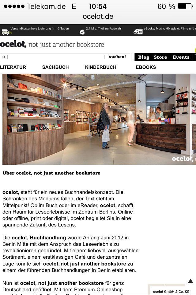 ocelot buchhandlung, brunnenstr. 181, 10119 berlin