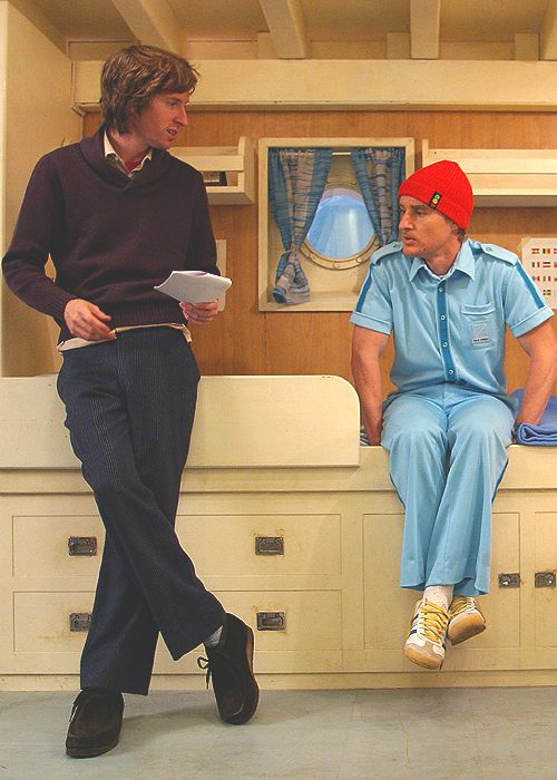 Wes Anderson & Owen Wilson ☛ The Life Aquatic with Steve Zissou (2004)
