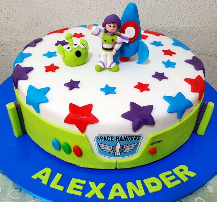 Buzz lightyear Cake. Toy story Party