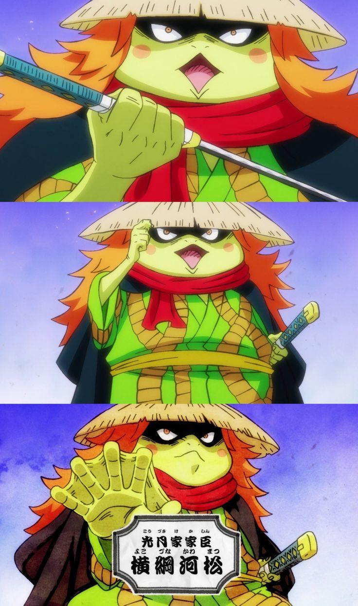 Kawamatsu Introduction   Anime, One piece