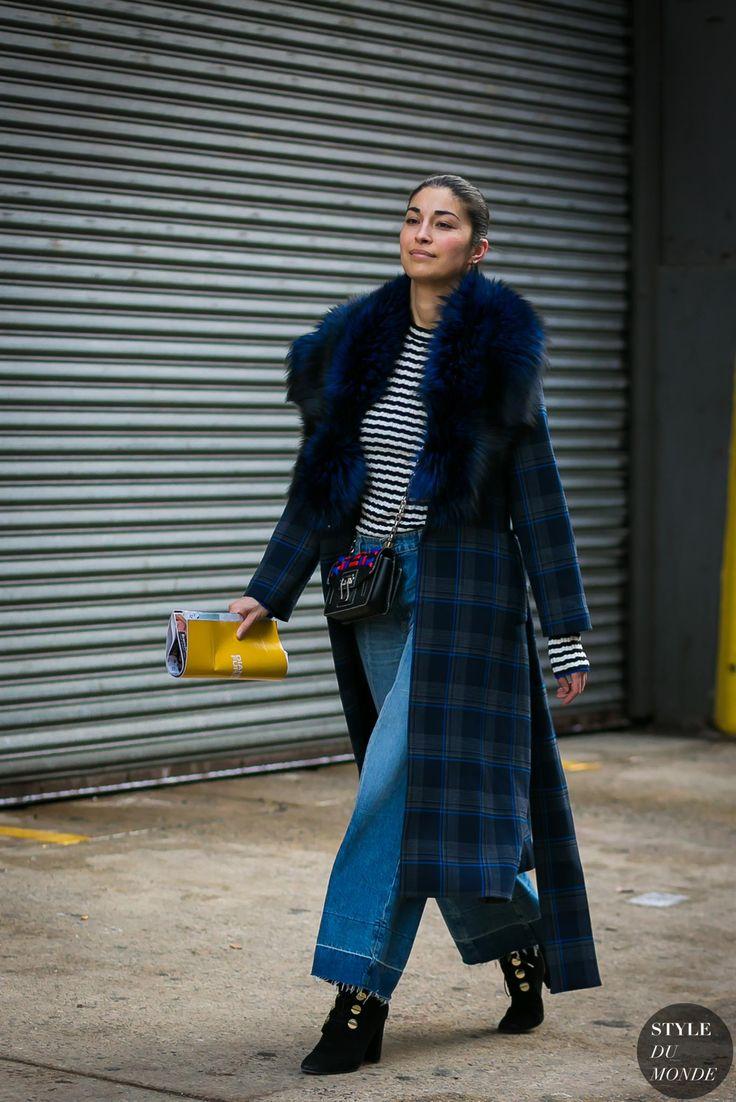 New York Fashion Week Fall 2017 Street Style: Caroline Issa