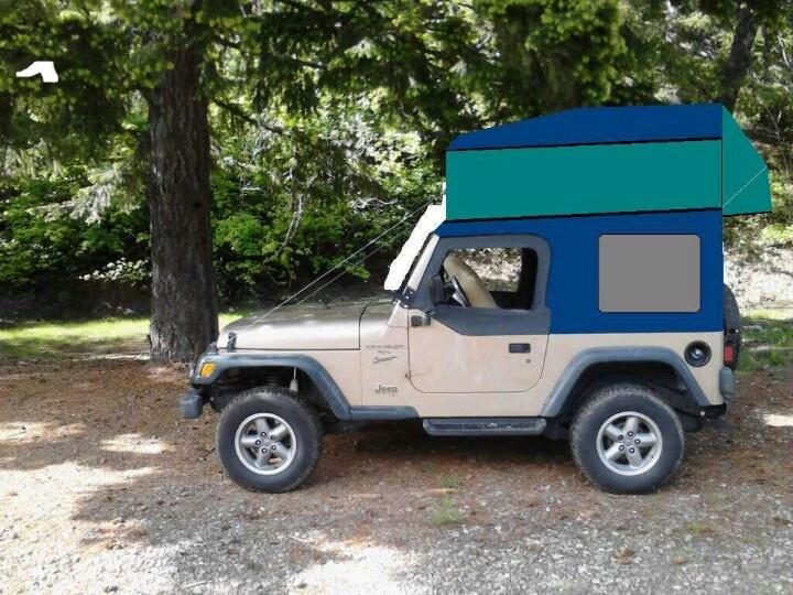 Jeep Rubicon For Sale >> TJ camper pop up | Expedition Camper | Jeep wrangler, Jeep wrangler rubicon, Jeep