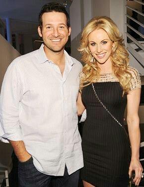 Tony Romo and Wife Candice
