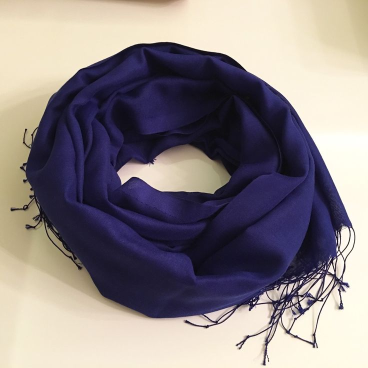 A personal favorite from my Etsy shop https://www.etsy.com/listing/185552072/pashmina-deep-blue-scarf-blue-scarf