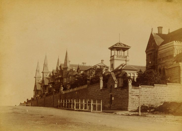 Johnston Street, Annandale c 1890, National Library Australia