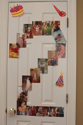 Love all the pictures shaped as a 2. Definitely doing this for Genesie's 2nd birthday party