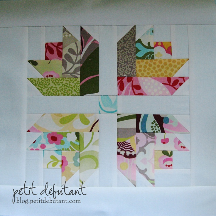 Tulip Patch Quilt Block