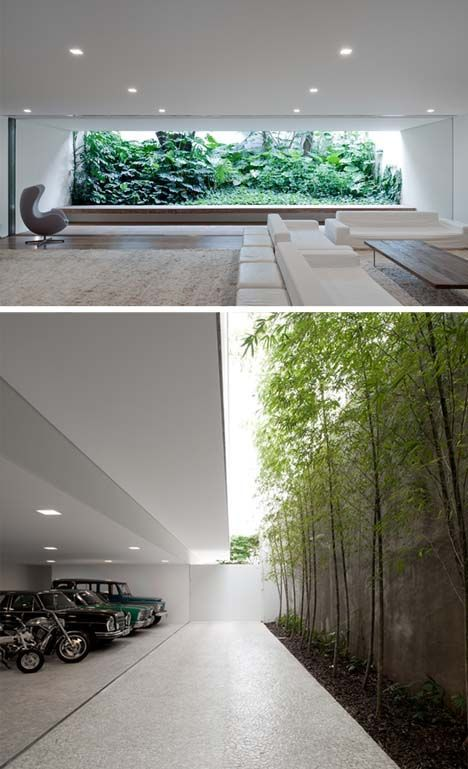 Living Room Designed by Brazilian Architect Isay Weinfeld for a Home in Sao Paulo: