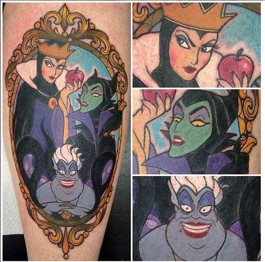 Disney Villain Tattoos | Inked Magazine
