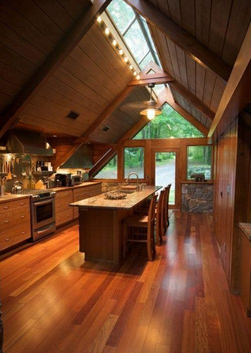 252 best Cabin Ideas images on Pinterest Cottage, My house and - küche aus holz
