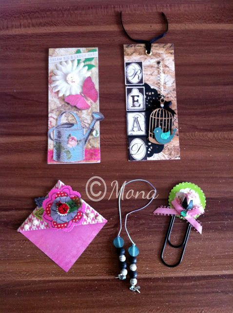 Bookmarks by Mona