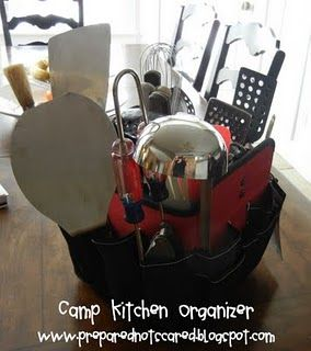 how to organize small kitchen camp kitchen organizer here s what you ll need a tool 7304