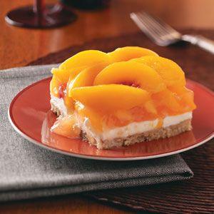 Peaches and Cream DessertDesserts Recipe, Brown Sugar, Creamy Treats, Cream Cheese, Peaches And Cream Desserts, Peaches Desserts, Layered Desserts, Healthy Desserts, Chops Pecans