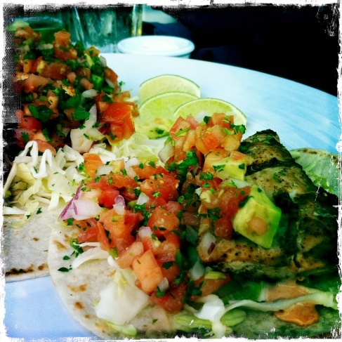 Fish Tacos - Bentwood Tavern - New Buffalo, Michigan