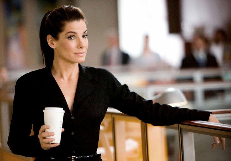 "Sandra Bullock en ""La propuesta"" #fama #cafe #cinema"