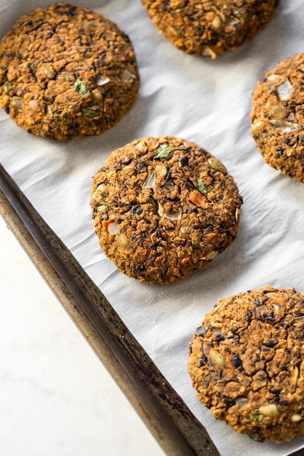 Oh Em Gee Veggie Burgers from my new cookbook!