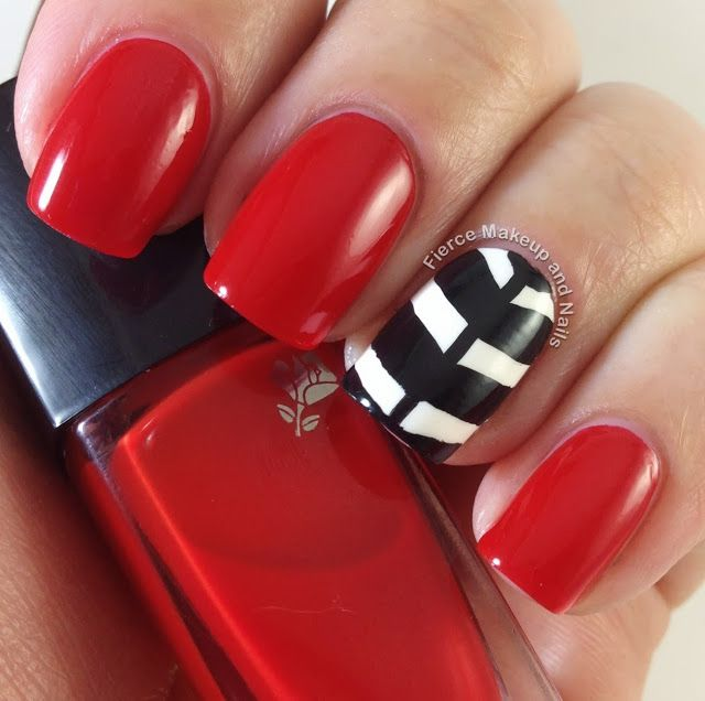 Fierce Makeup and Nails: 31 Day Challenge: Day 1- Red Nails #31DC2013