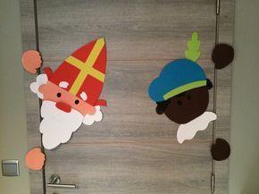 Kiekeboe! Sinterklaas en piet komen ook een kijkje brengen!