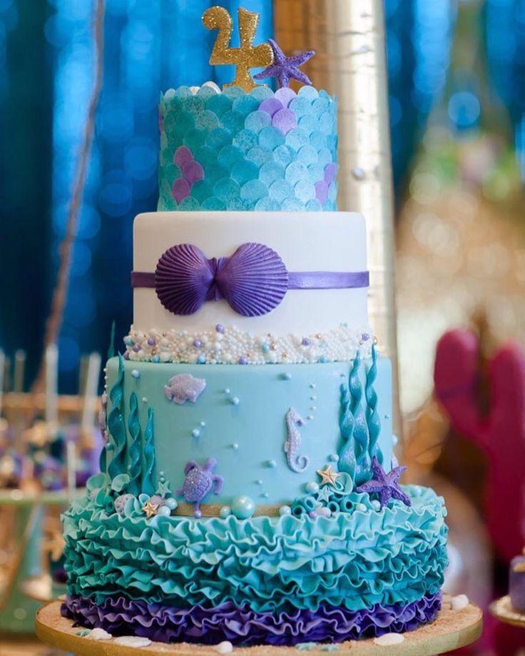 644 best Cake Cupcakes Sea Shore Mermaid images on Pinterest