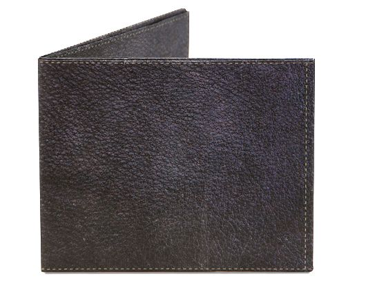 Vintage Black Leather Mighty Wallet | QUIRKS