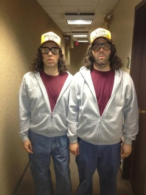 "@JudahWorldChamp: ""Me with Fred Armisen backstage at @nbc30rock"" Fred armisen #JudahFriedlander #30Rock"