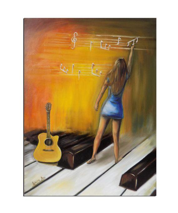 Original oil painting contemporary art original by artstudioAreti