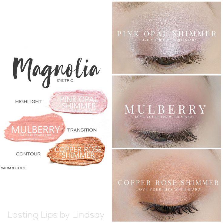 Eyeshadow trio using SeneGence ShadowSense colors in Pink Opal Shimmer, Mulberry, and Copper Rose Shimmer. Smudge proof, waterproof, crease-proof, long-lasting eyeshadow. Cream to powder eyeshadow. Cruelty free makeup | Makeup look | Makeup how to | Makeup tutorial | long-lasting makeup | LipSense | LipSense distributor | www.lastinglipsbylindsay.com | Insta @ lastinglips_by_lindsay | Bella | Blackberry | Violet Volt | Silver Shimmer | Onyx | Granite | beauty | step-by-step eyeshadow look