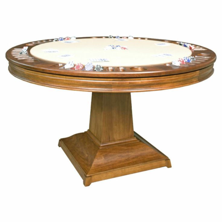 The Marin game table is a wonderful example of transitional style. It can be used in a number of different designs and is a perfect fit into your family's game room. #dannyveghs #poker